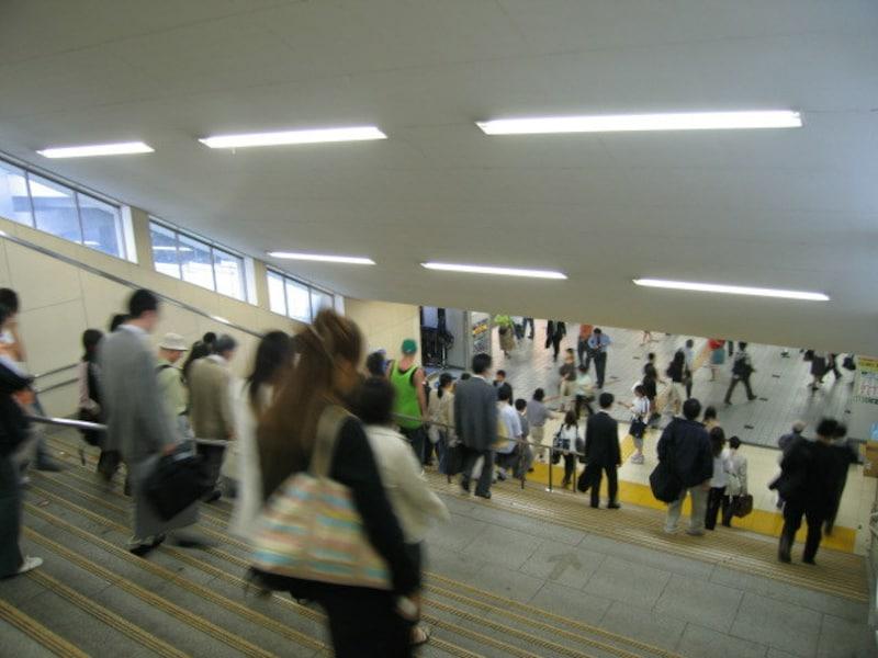 武蔵小杉の連絡通路