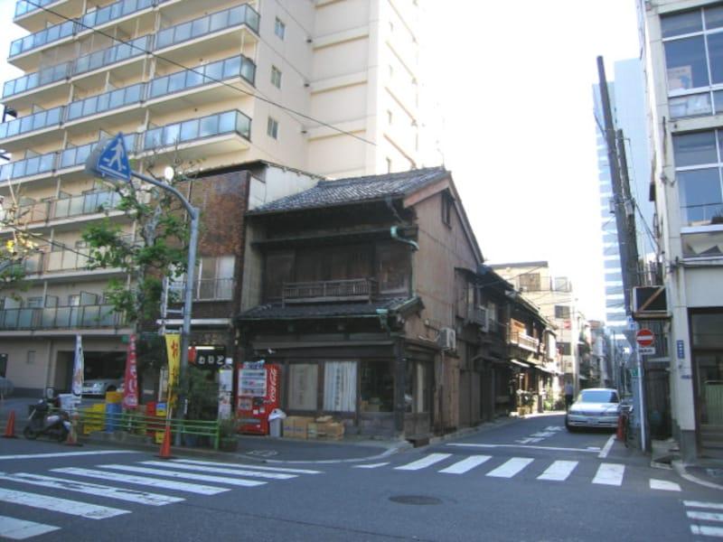銀座の古い建物