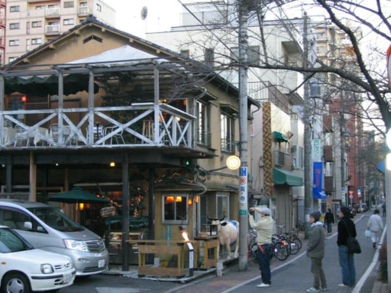 目黒川沿いの飲食店
