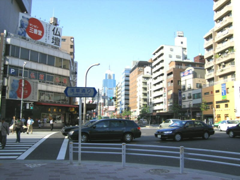 銀座線田原町