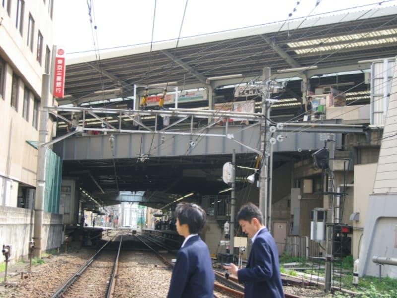 東急東横線自由が丘駅