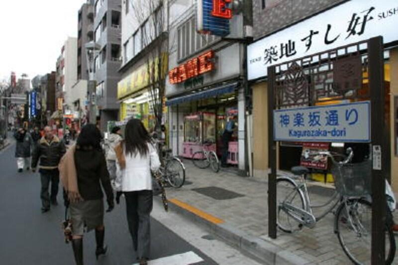 神楽坂街イメージ