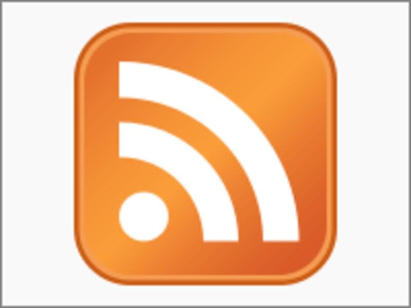 RSSフィードを示すアイコン