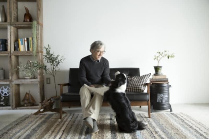 犬がのびのびと過ごせるスペースはありますか?