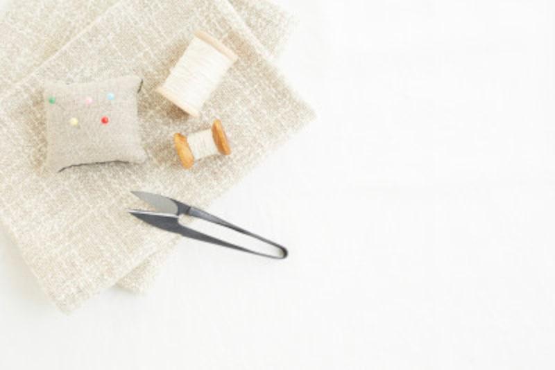 なみ縫いのやり方を写真で解説
