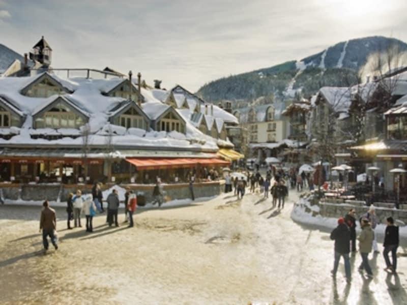 冬のウィスラービレッジundefined(C)TourismWhistler