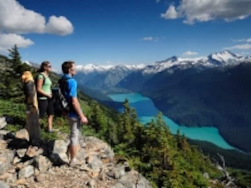 山頂付近でハイキングを楽しむなら、7月と8月がベストundefined(C)TourismWhistler