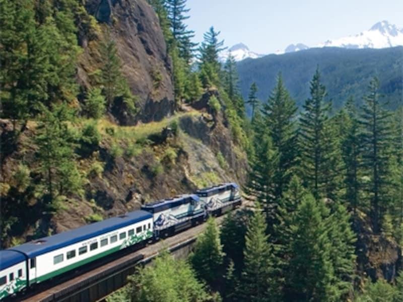 人気の観光列車ウィスラーマウンテニア号undefined(C)ArmstrongGroup
