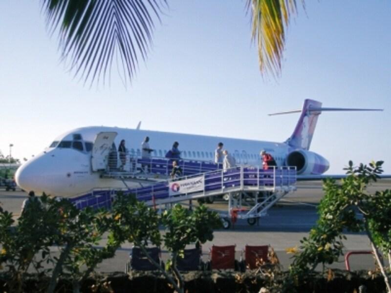 ハワイ島直行便に空きがあることも。まずはハワイ島に入るという方法もあり