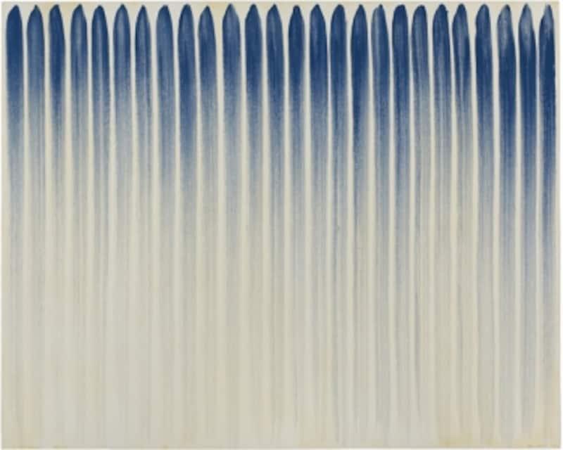 李禹煥「線より」(1974)写真:渡邉修
