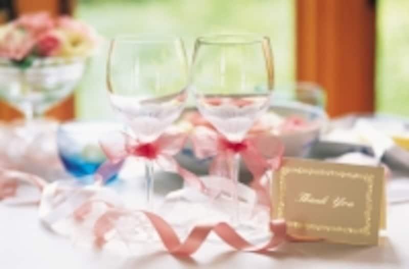 料理や飲物、装花などがランクアップしがちなアイテム