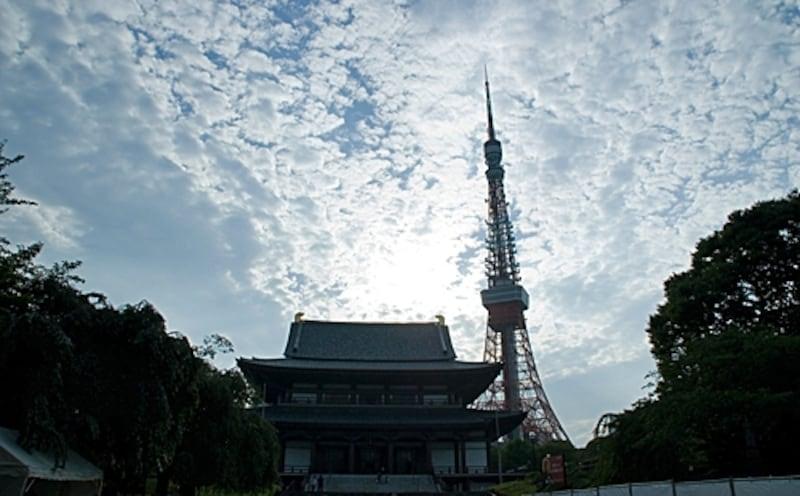 徳川家の菩提寺、浄土宗大本山増上寺は東京の裏鬼門にあたる