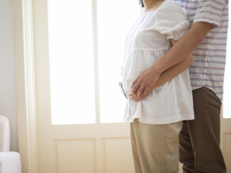 妊婦さんとパートナー