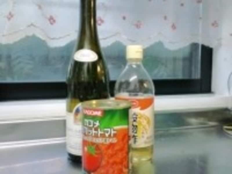 食品のラベルはお湯や洗剤ではがしやすい