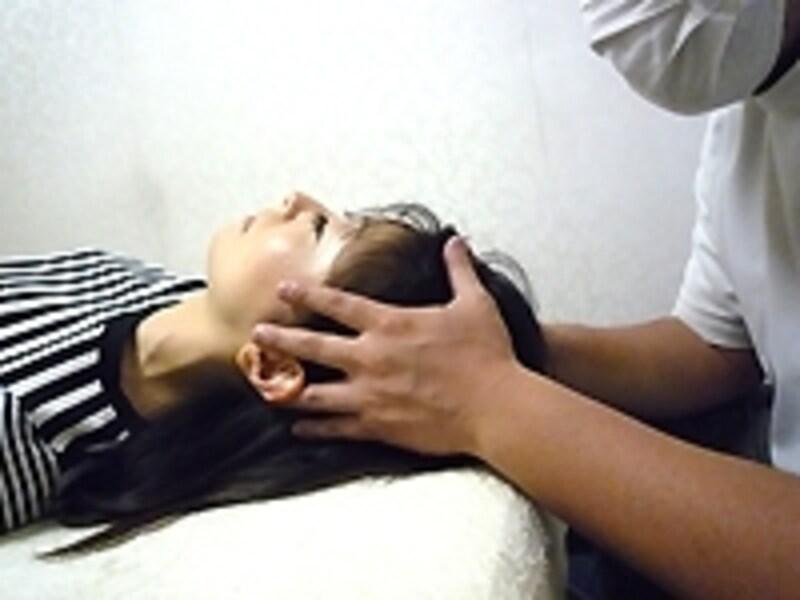 頭蓋の調整