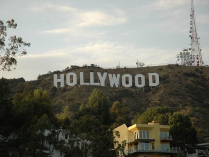 羽田からHollywoodの看板までひとっとび!