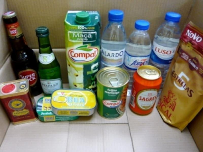 マカオのスーパーで入手できるポルトガル由来の商品の一例