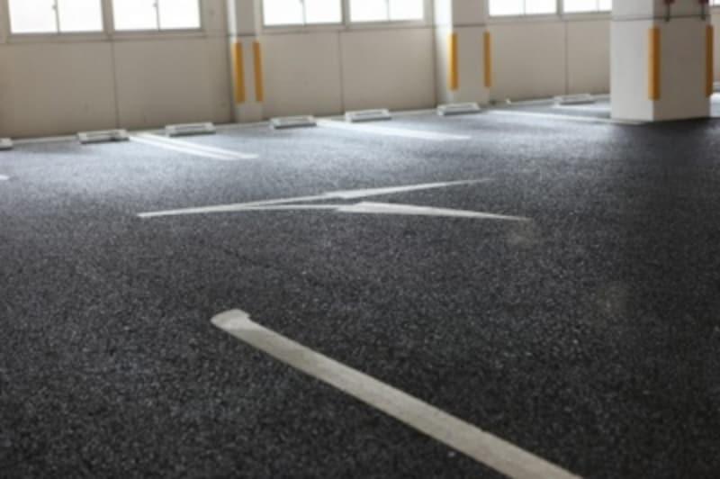 立体自走式駐車場は駐車台数が確保できる。