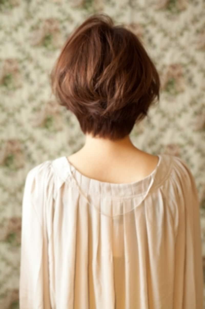 髪型undefinedショートundefined秋冬