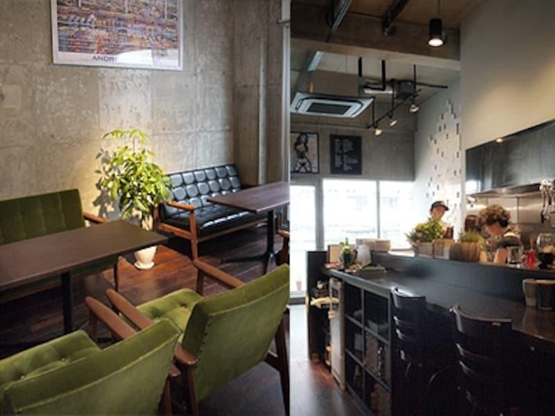 jamcafeの店内写真
