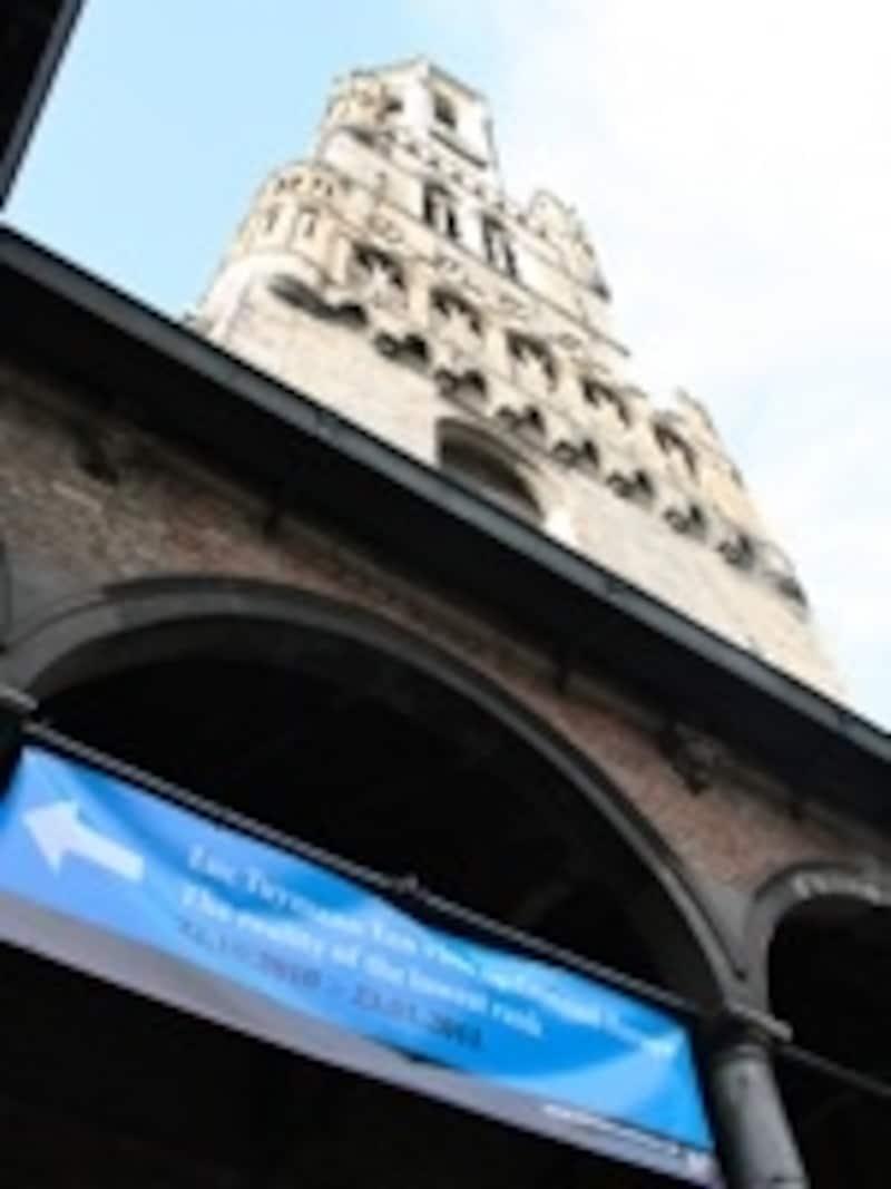 世界遺産の鐘楼内も会場のひとつ