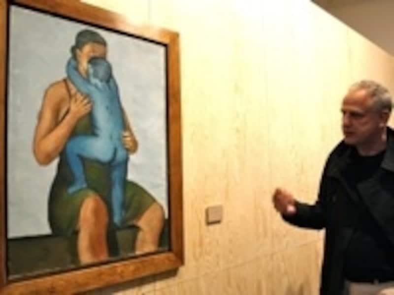 画家リュック・タイマンスが愛着ぶりを熱弁するアンジェイ・ヴロブレフスキの絵画