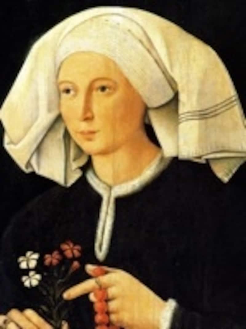 可憐な女性の佇まいが妙に心を打つ無名画家の作品?MuseoThyssen-BornemiszaMadrid