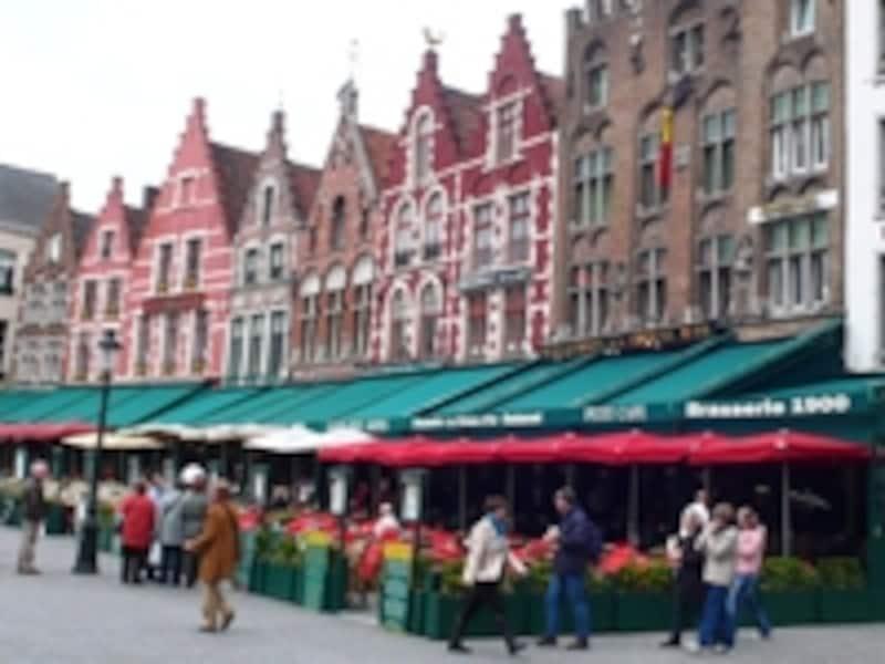 マルクト広場の家並み