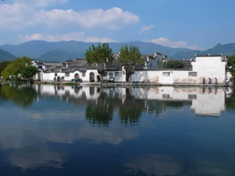 宏村と南湖