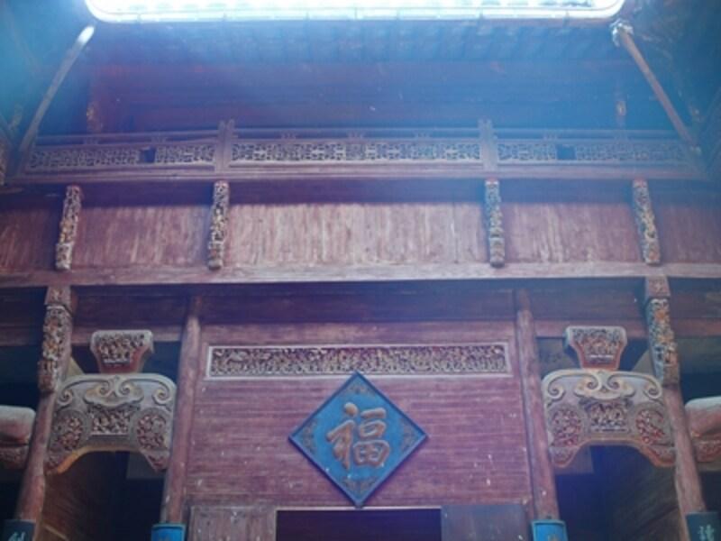 宏村の民家