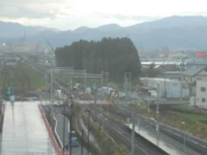 青森駅へは奥羽本線に乗換