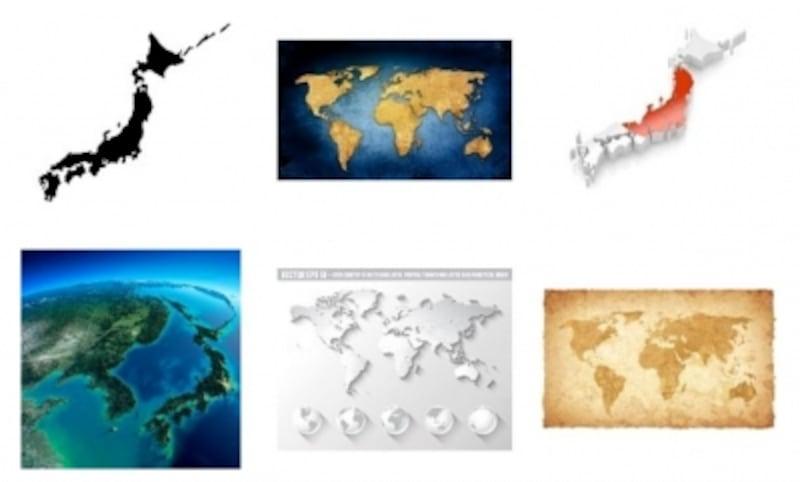 地図undefined日本地図undefined素材undefined世界地図undefined画像undefinedイラスト