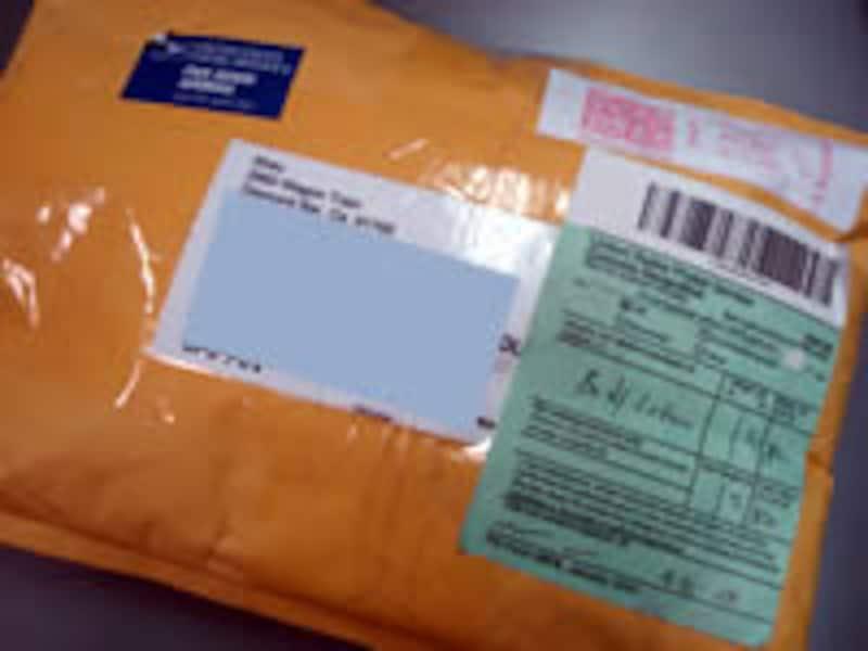 落札商品の配送は海外からだった!