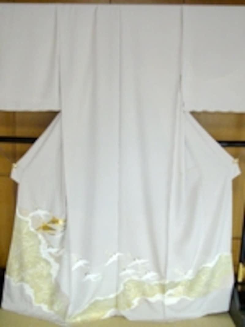 色留袖の例