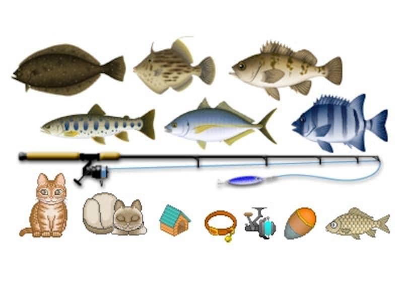 猫と釣り人