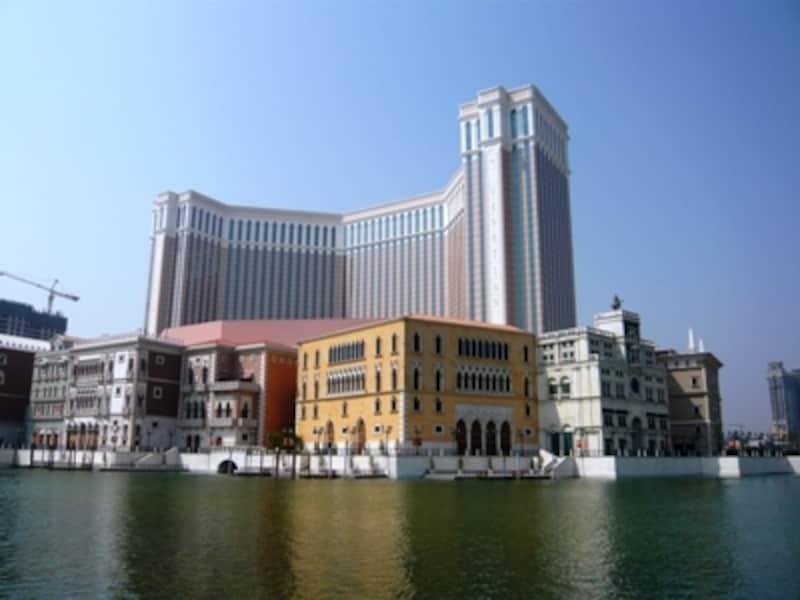 コタイ地区の中心に建つ巨大複合型リゾート「ヴェネチアン・マカオ・リゾート・ホテル」