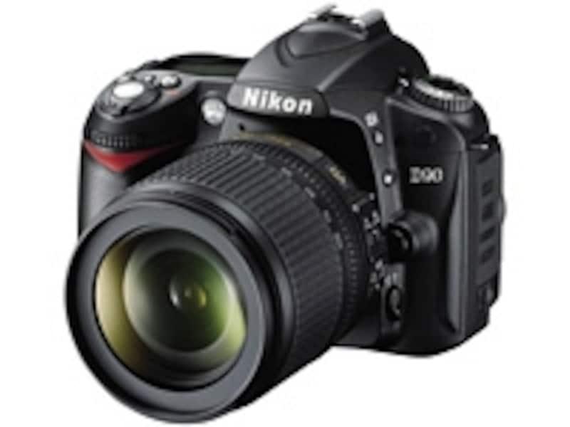 世界初の動画撮影可能なデジタル一眼レフニコンD90。