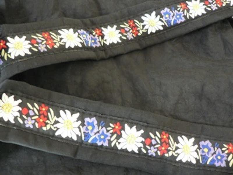 スイスの刺繍