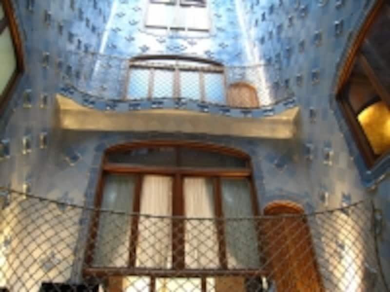 建物の内側