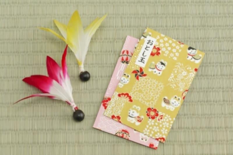 ポチ袋・お年玉袋印刷ダウンロード無料手作り