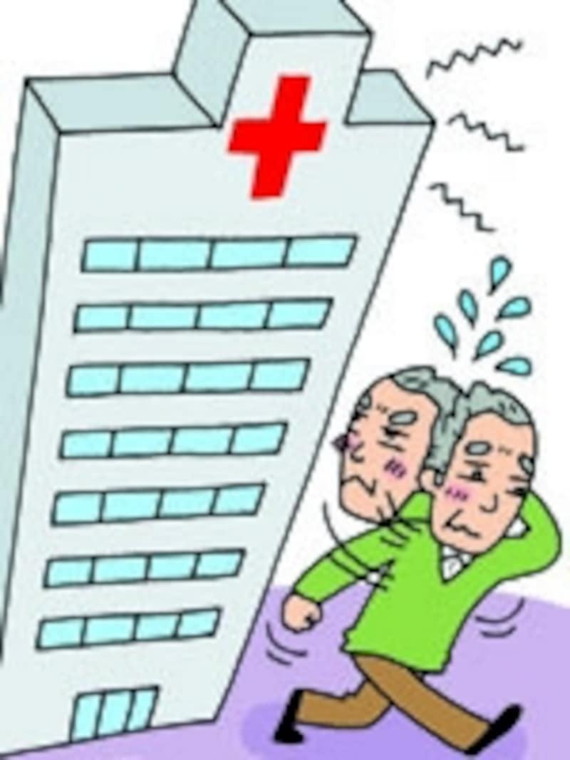 関心を持っていながら、病院の門を高いと感じる高齢の男性は多い