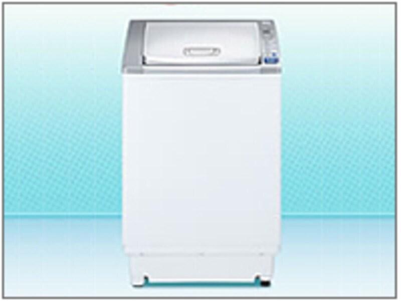 うずまき(タテ)式洗濯乾燥機(参考:三菱電機)