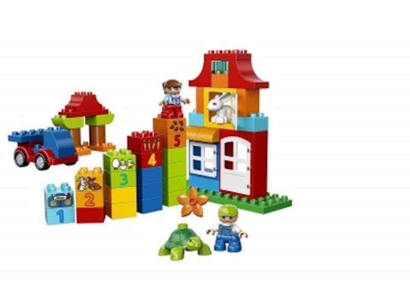 1歳クリスマスプレゼントおもちゃランキング第1位『レゴ デュプロみどりのコンテナスーパーデラックス10580』