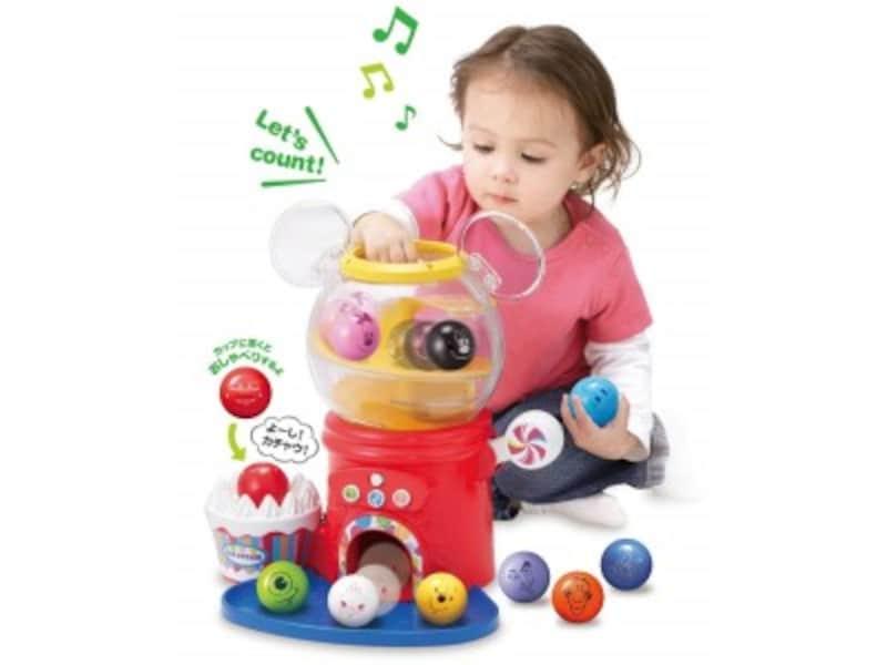 1歳クリスマスプレゼントおもちゃランキング第4位『ディズニーはじめて英語ディズニー&ディズニー・ピクサーキャラクターズおしゃべりいっぱい!ガチャ』