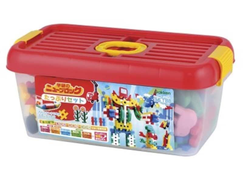 1歳クリスマスプレゼントおもちゃランキング第5位『ニューブロックたっぷりセット』