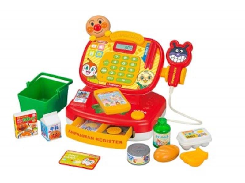 1歳クリスマスプレゼントおもちゃランキング第7位『アンパンマンピピッとおかいもの!アンパンマンレジスター』