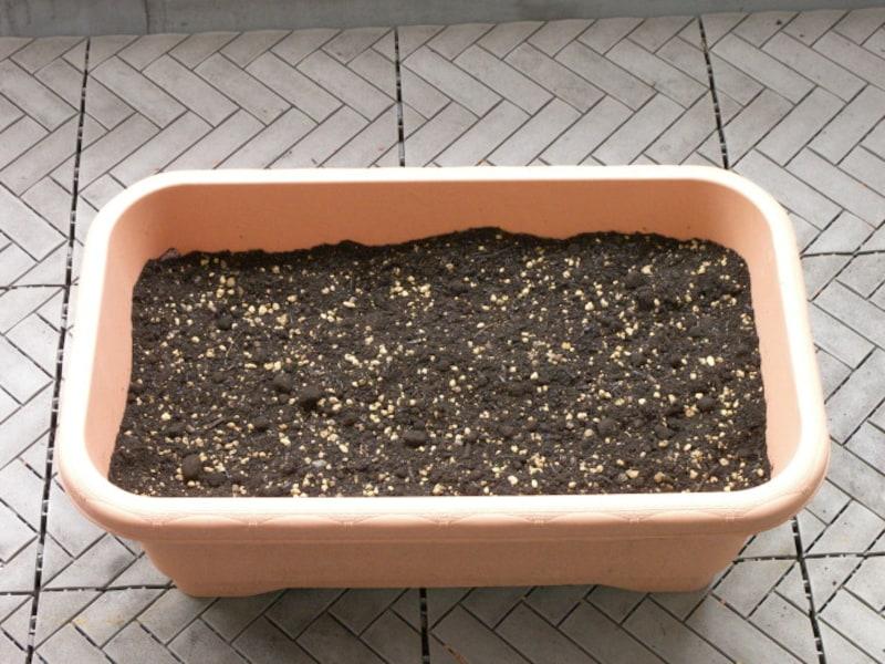 プランター用の土(培養土)の作り方手順6