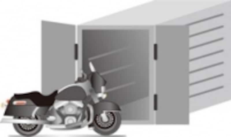 バイクコンテナ