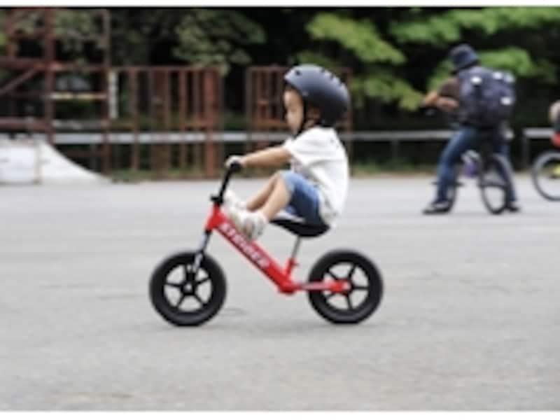 小さい子でも乗りこなせる、絶妙な設計