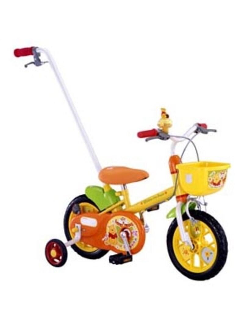 かじ取り式で、2歳半以上なら三輪車代わりにもおすすめ